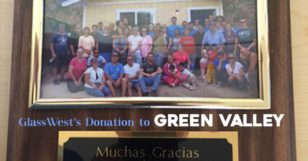 Green Valley Donation