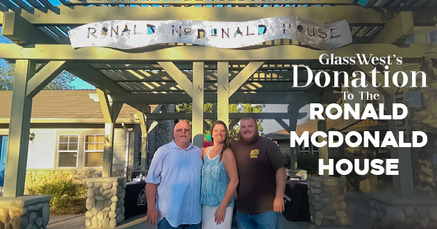 Glass West Donates To Ronald Mcdonald House