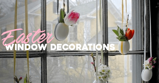 Window Decorations for Easter