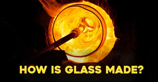 How is glass made