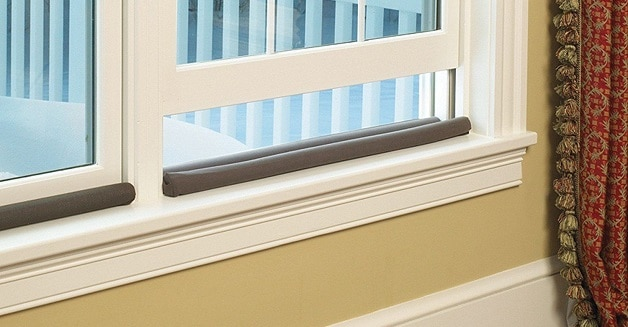 keep cold air from coming through windows