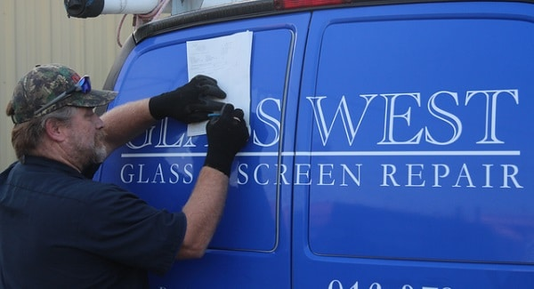 Commercial Window Glass Repair
