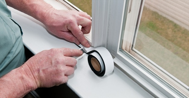 how to insulate windows from cold air