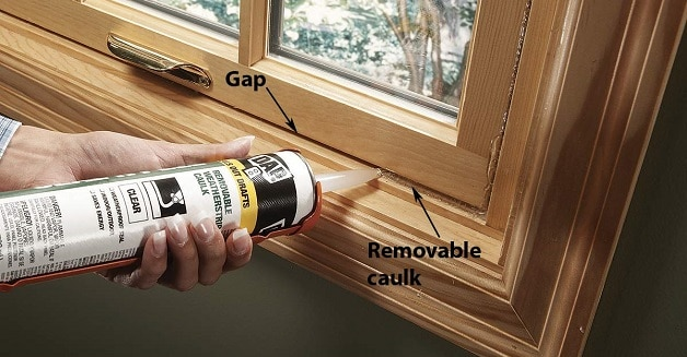 how to clean wood window frames