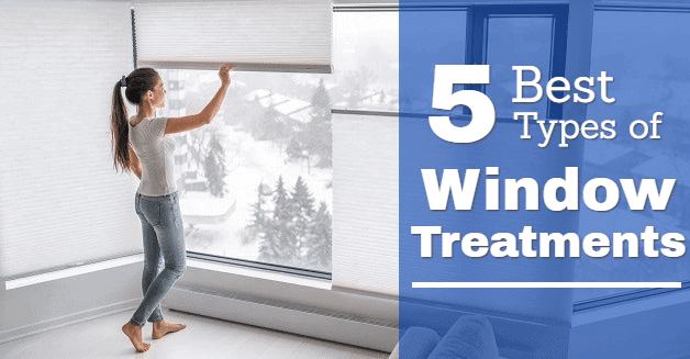 types of window covering