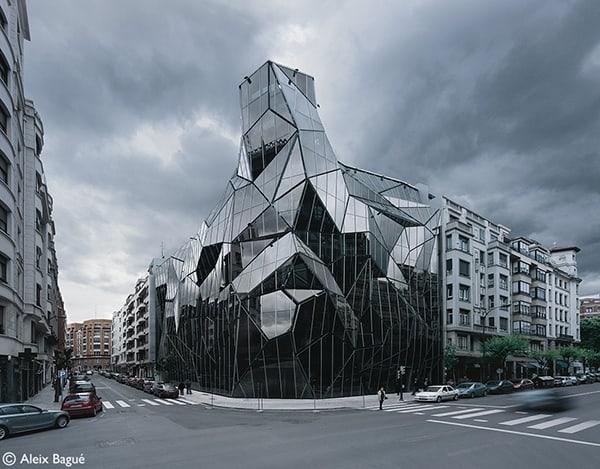 glass building design