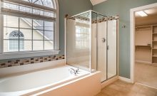 shower glass door options