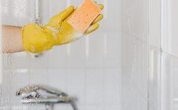 shower door cleaning tips